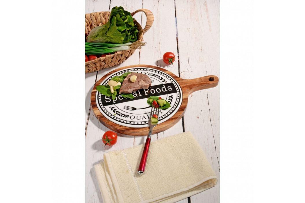 Bambusový podnos Kutahya Special Foods, Ø39 cm