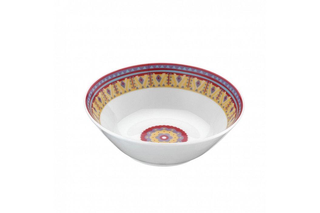 Sada 24-dielneho porcelánového riadu Color Boris