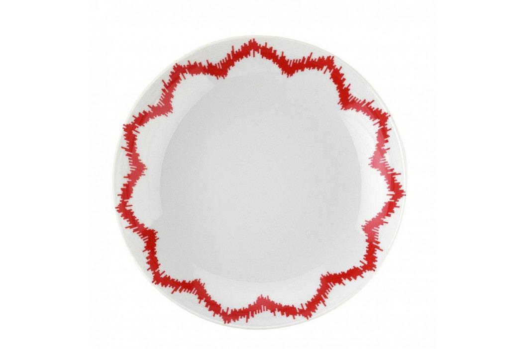 Sada 24-dielneho porcelánového riadu Red Lines
