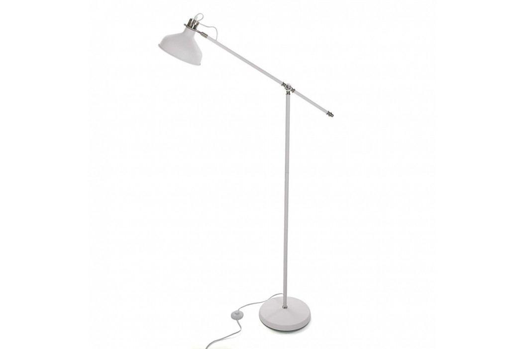 Biela voľne stojacia lampa Versa Prahna
