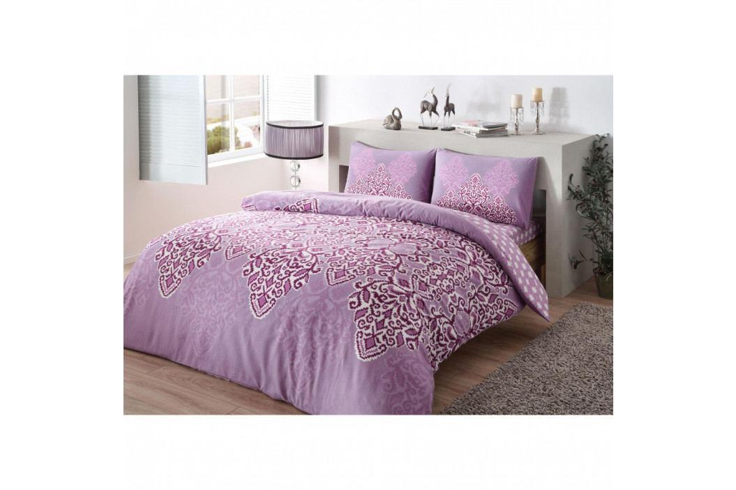 Bavlnené obliečky s plachtou na jednolôžko Violette, 160 × 220 cm