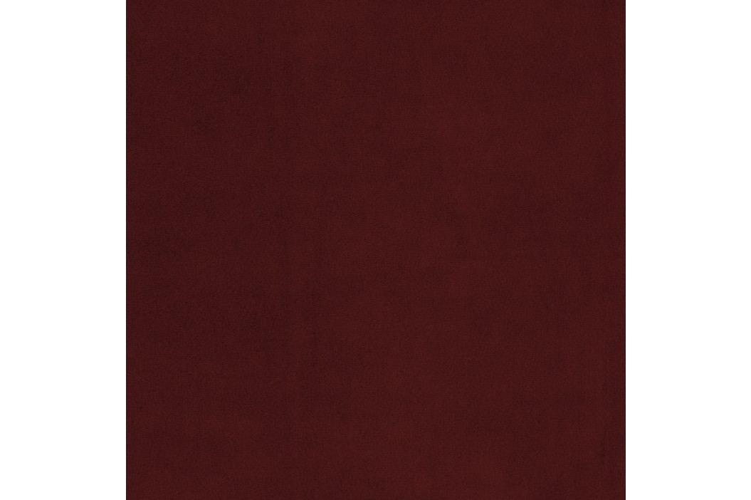 Tmavočervené kreslo Vivonita Portobello