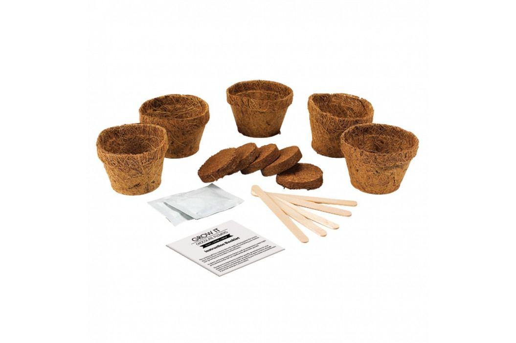 Pestovateľský set Gift Republic Chocolate Flowers