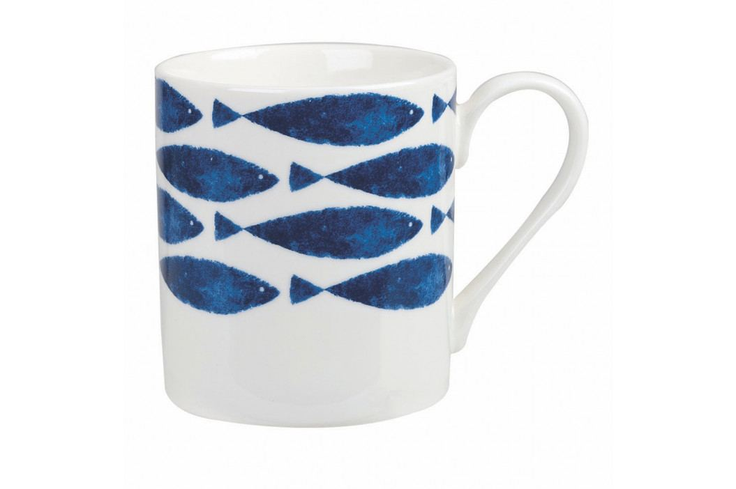 Sada 4 hrnčekov z kostného porcelánu Churchill China Couture Sieni Fishie, 250 ml