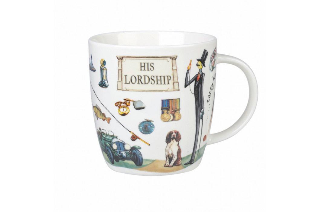 Hrnček z kostného porcelánu Churchill China At Your Leisure His Lordship, 400 ml