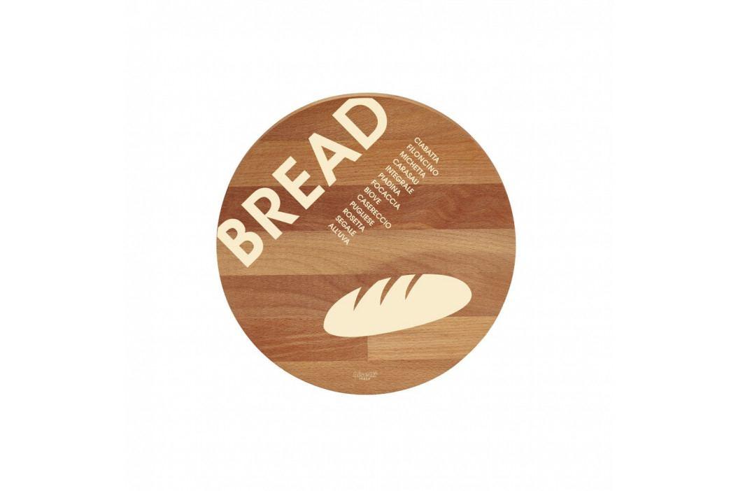 Doska na krájanie z bukového dreva Bisetti Bread, 30cm