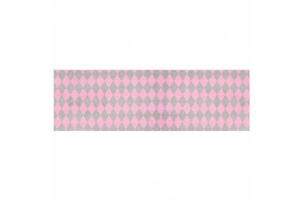 Ružovo-sivý behúň Zala Living Magic Circus, 50×150 cm