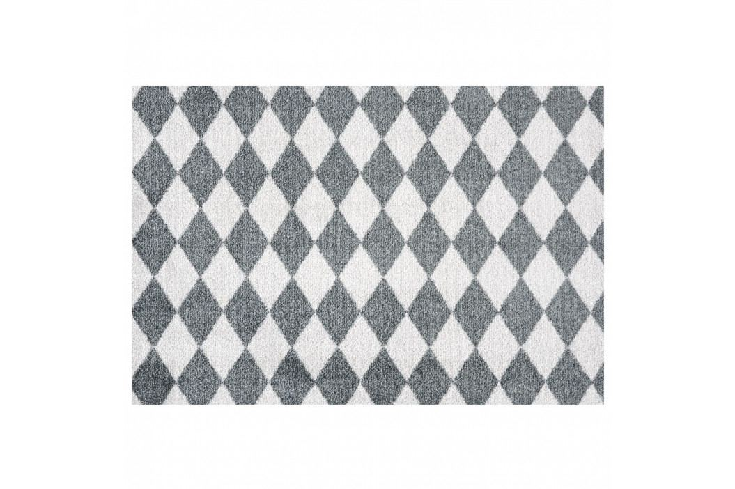 Sivo-biela rohožka Zala Living Circus, 50×70 cm