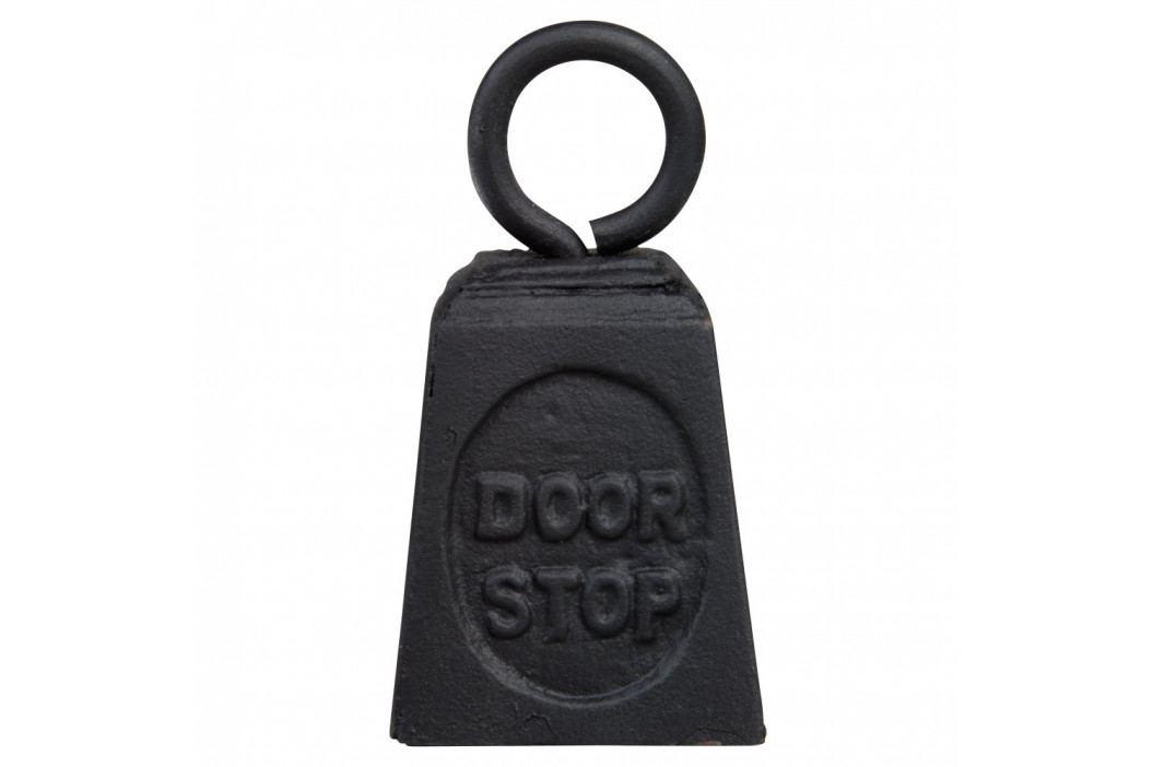 Čierna liatinová zarážka do dverí Esschert Design