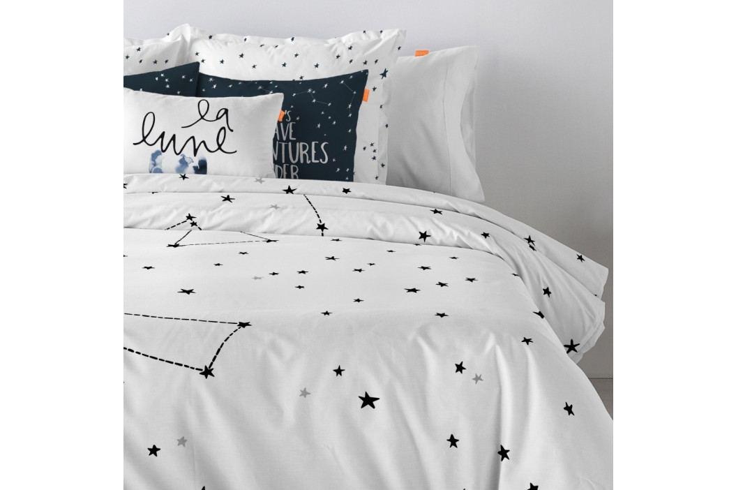 Bavlnená obliečka na paplón Blanc Constellation, 140×200cm