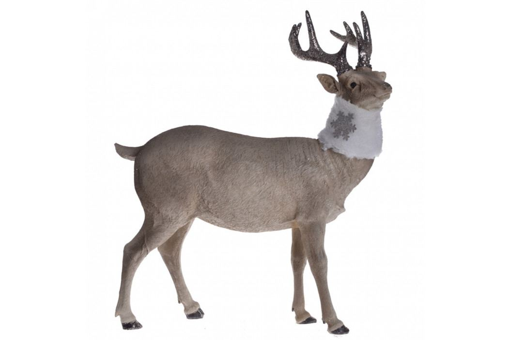 Dekoratívna soška Ewax Reindeer, výška 39 cm