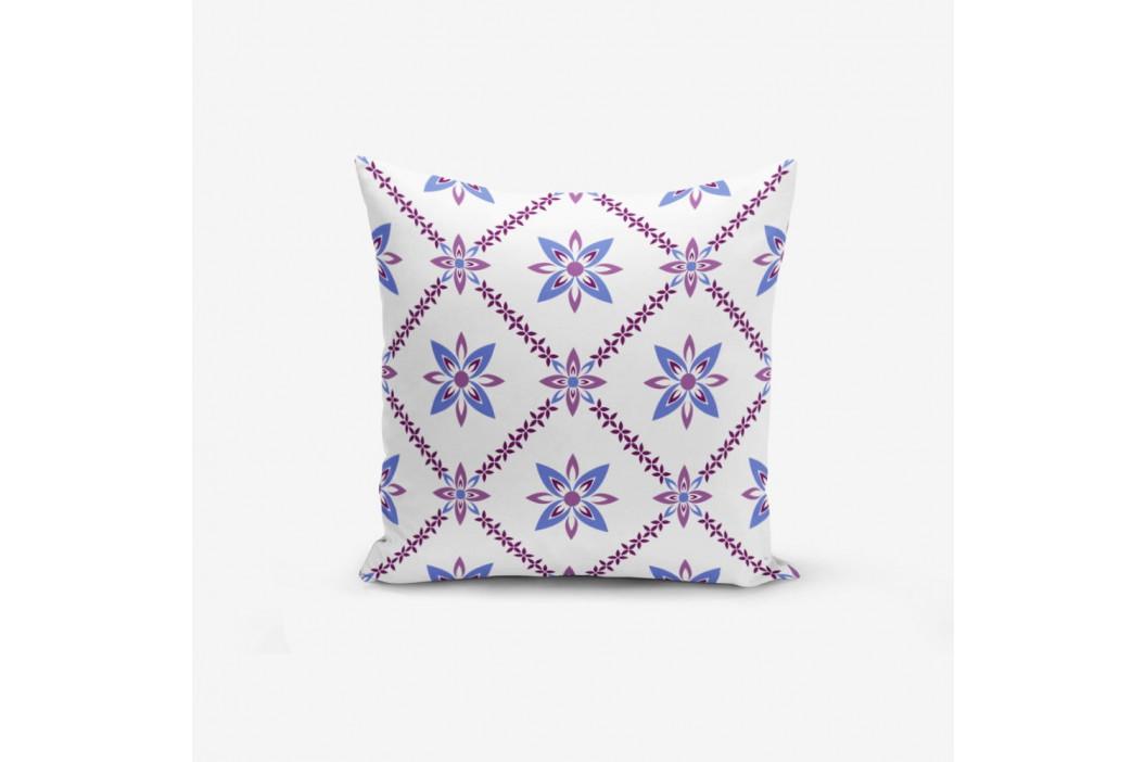 Obliečka na vankúš s prímesou bavlny Minimalist Cushion Covers Colorful Flower, 45×45 cm