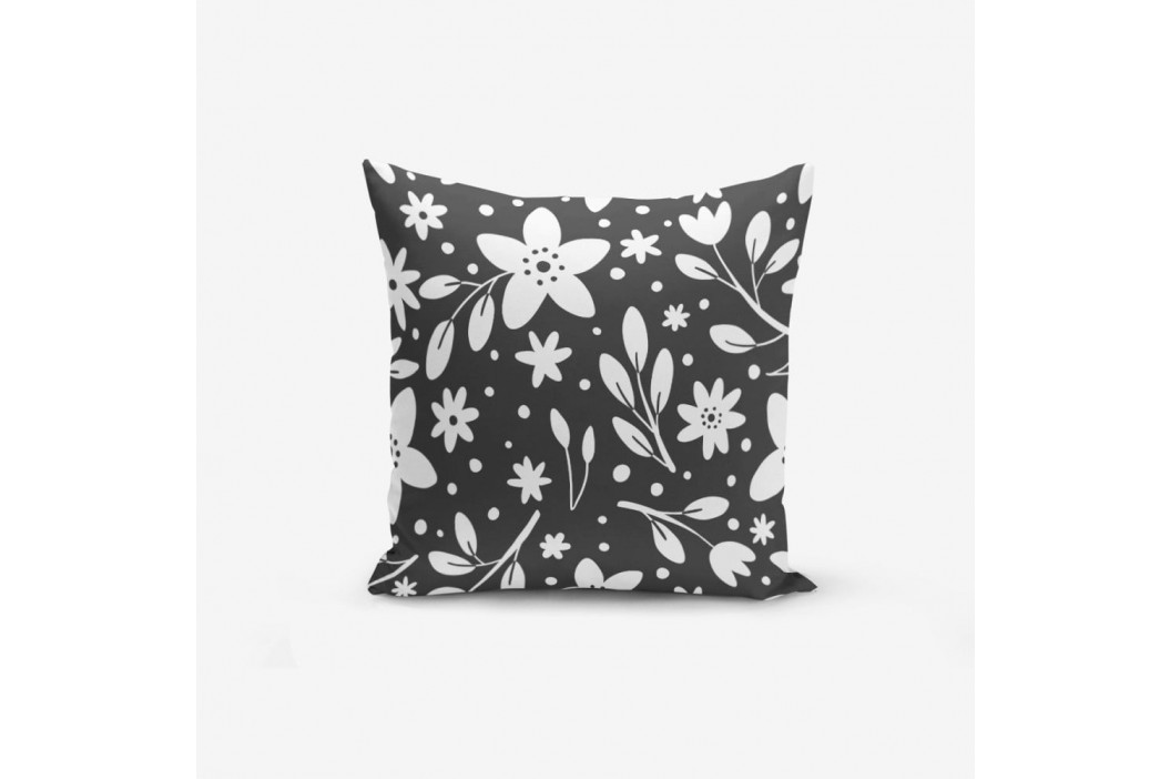 Obliečka na vankúš s prímesou bavlny Minimalist Cushion Covers Fume Background Flower Modern, 45×45 cm