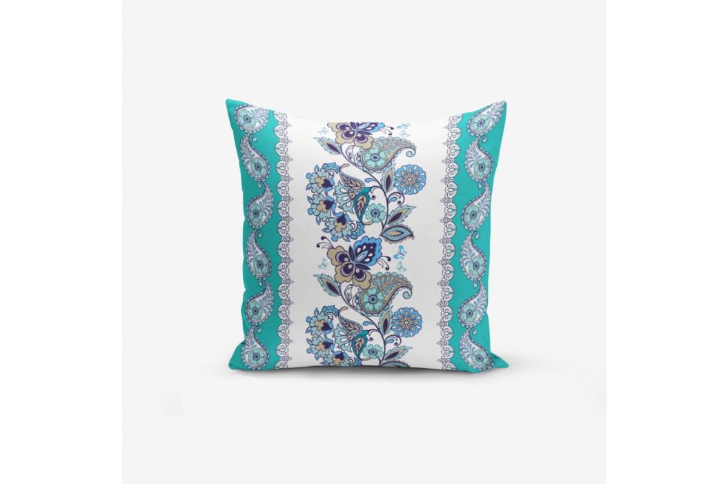 Obliečka na vankúš s prímesou bavlny Minimalist Cushion Covers Blue Cami Cinisi, 45×45 cm