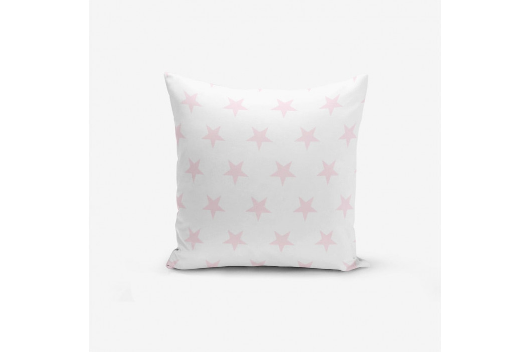 Obliečka na vankúš s prímesou bavlny Minimalist Cushion Covers Powder Colour Star Modern, 45 × 45 cm