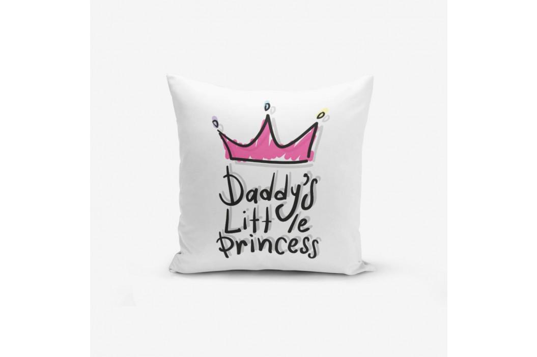 Obliečka na vankúš s prímesou bavlny Minimalist Cushion Covers Pink Crown, 45×45 cm