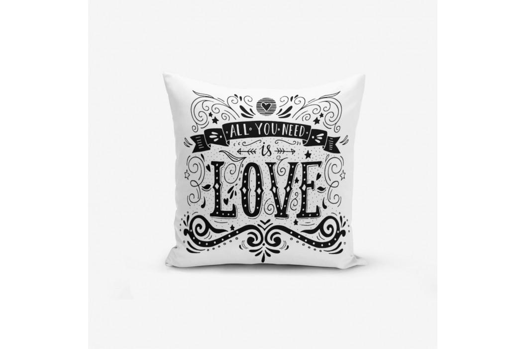 Obliečky na vaknúš s prímesou bavlny Minimalist Cushion Covers Hearth, 45×45 cm