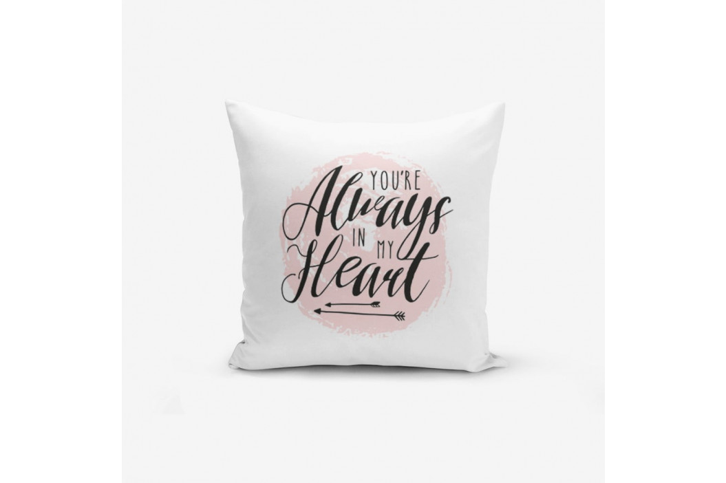Obliečky na vaknúš s prímesou bavlny Minimalist Cushion Covers Moons, 45×45 cm
