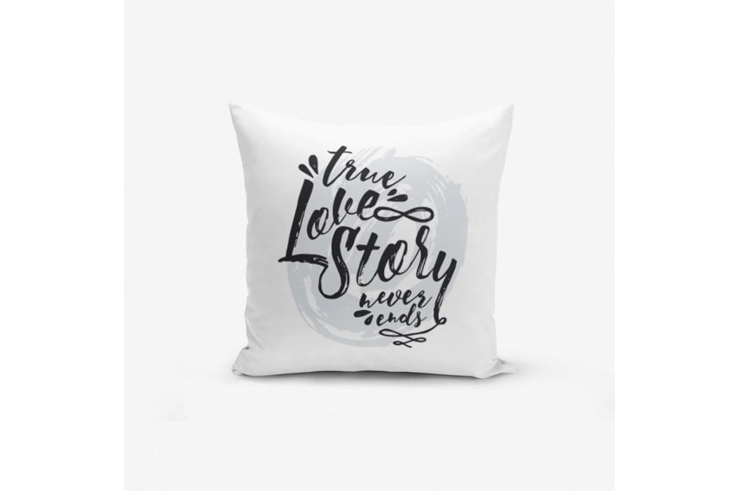 Obliečky na vaknúš s prímesou bavlny Minimalist Cushion Covers Love Story, 45×45 cm