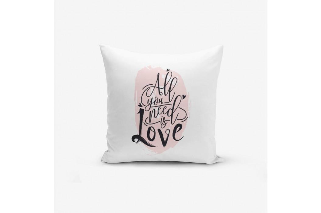 Obliečky na vaknúš s prímesou bavlny Minimalist Cushion Covers Writting, 45×45 cm