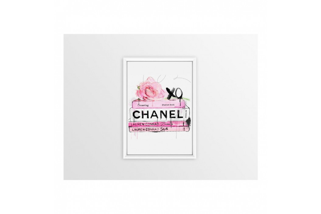 Obraz Piacenza Art Books Chanel, 30 × 20 cm