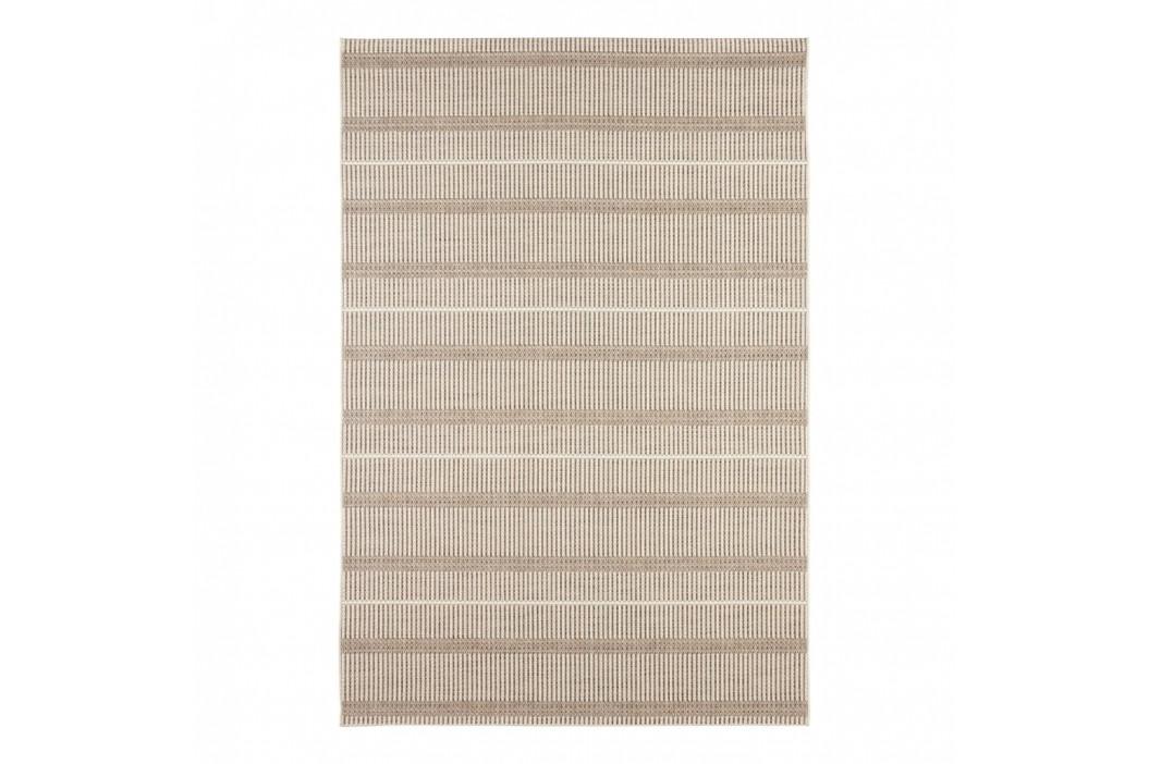 Krémový koberec vhodný aj do e×teriéru Elle Decor Brave Laon, 160 × 230 cm