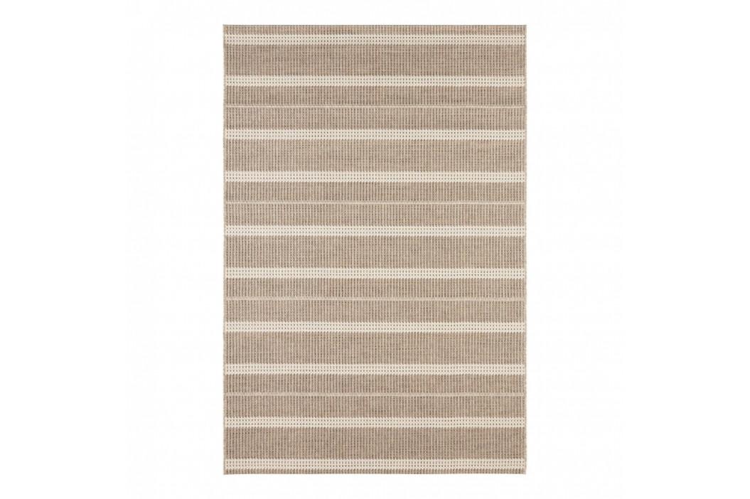Hnedý koberec vhodný aj do e×teriéru Elle Decor Brave Laon, 200 × 290 cm