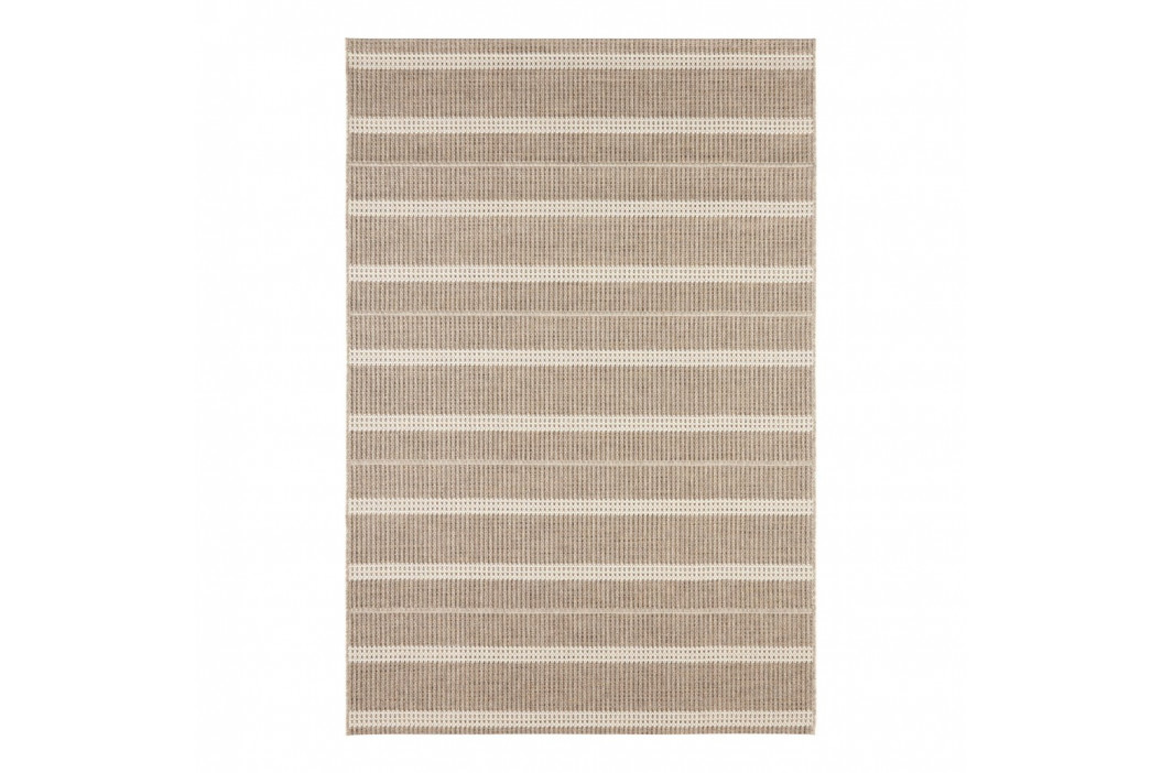 Hnedý koberec vhodný aj do exteriéru Elle Decor Brave Laon, 160 × 230 cm
