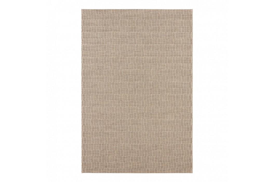 Krémovobiely koberec vhodný aj do exteriéru Elle Decor Brave Dreux, 80 × 150 cm