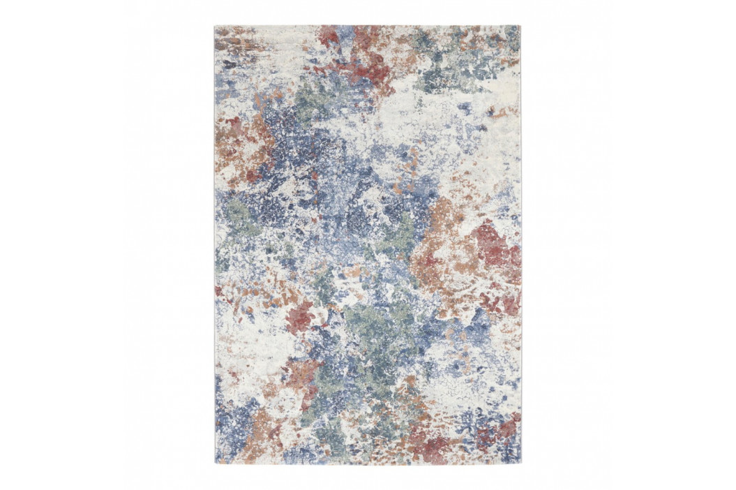 Svetlomodro-zelený koberec Elle Decor Arty Fontaine, 80 × 150 cm