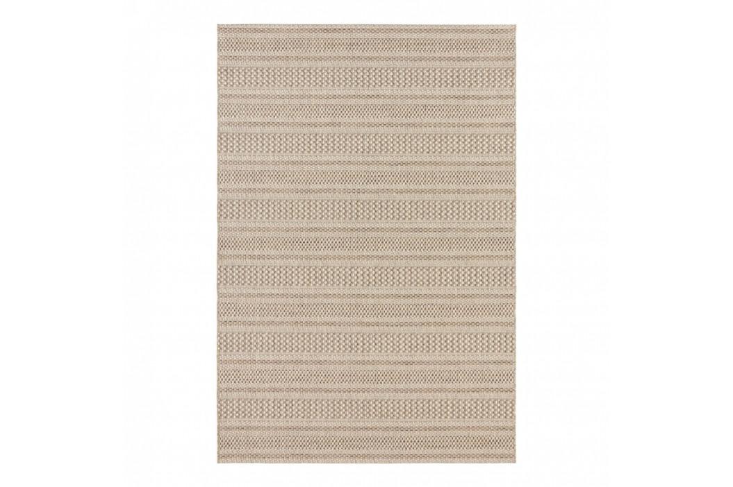 Svetlohnedý koberec vhodný aj do exteriéru Elle Decor Brave Arras, 120 × 170 cm