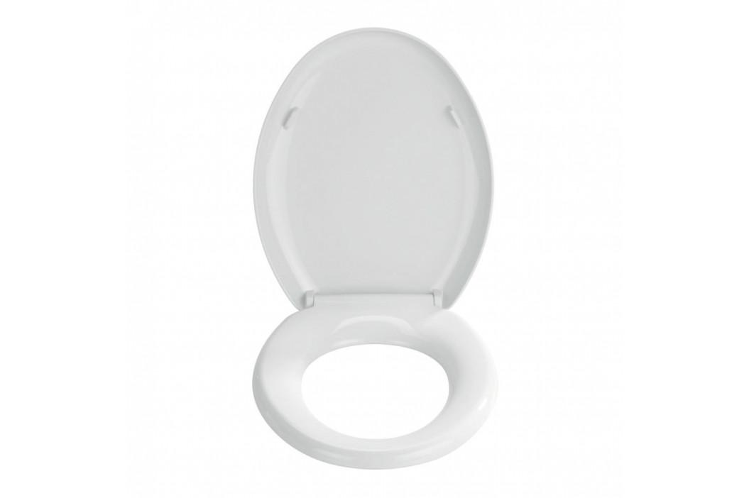 Biela toaletná doska Wenko Premium Mira