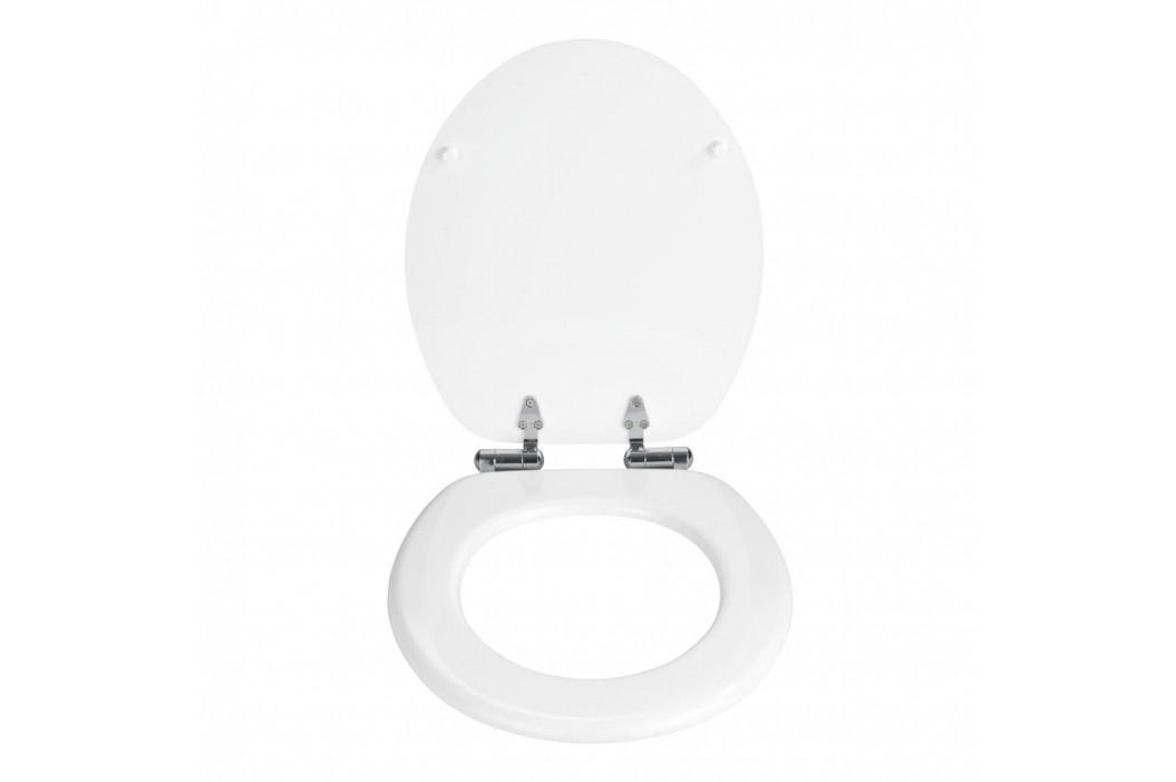 Biela toaletná doska Wenko Urbino