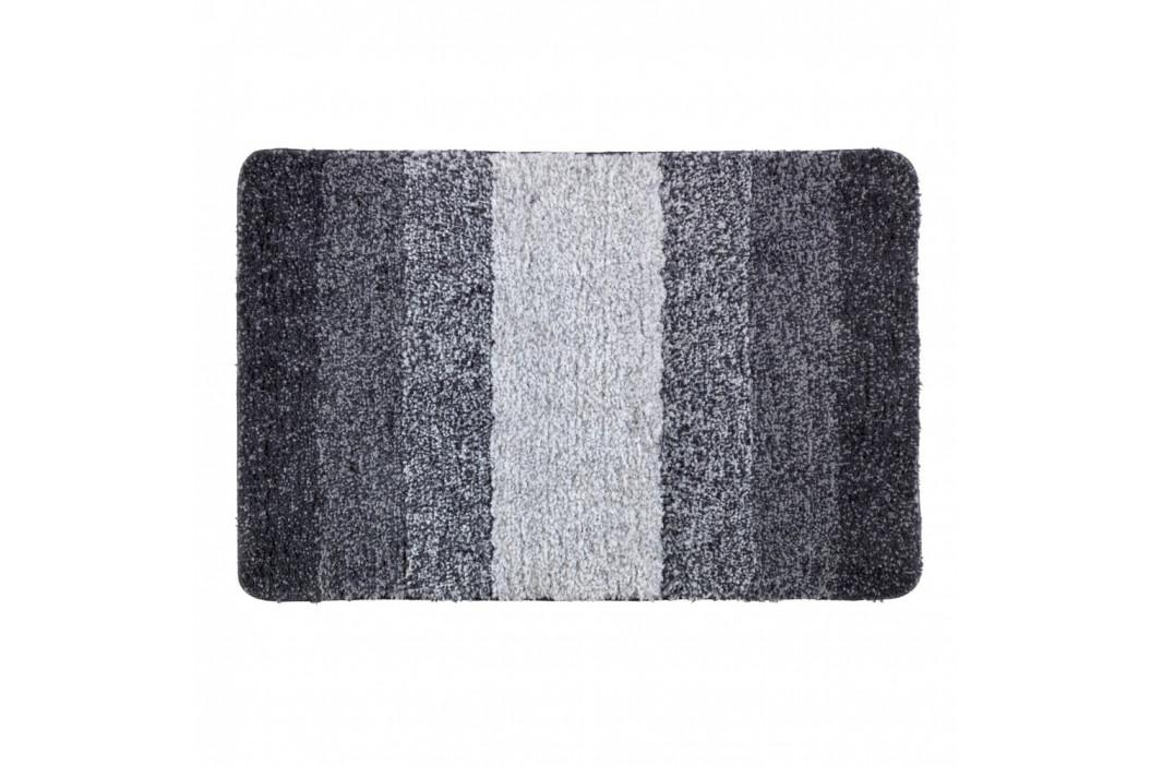 Sivá kúpeľňová predložka Wenko Luso, 60 x 90 cm