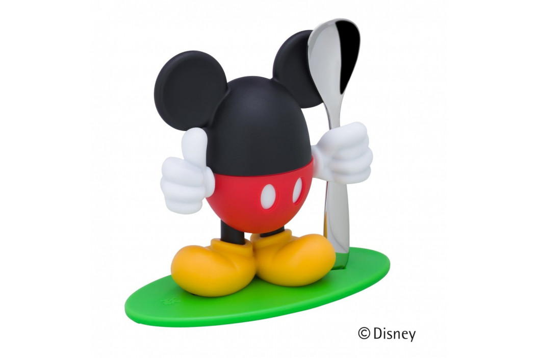 Stojanček na vajcia s lyžičkou v tvare Mickey Mousa WMF McEgg