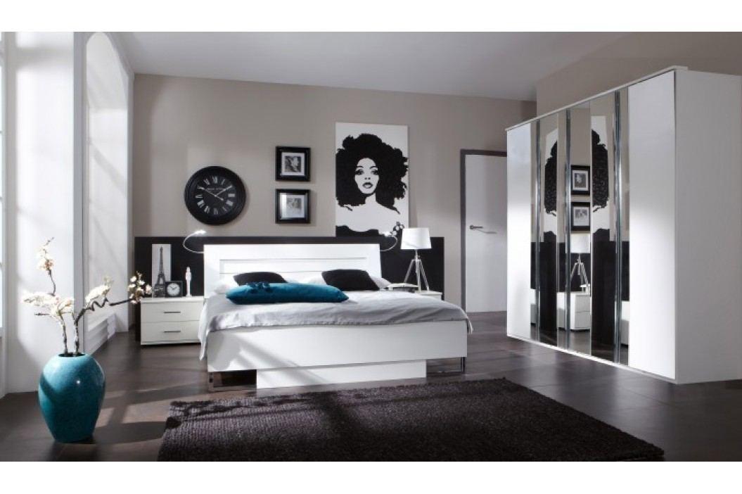 Davos - Komplet, posteľ 180 cm (alpská biela)