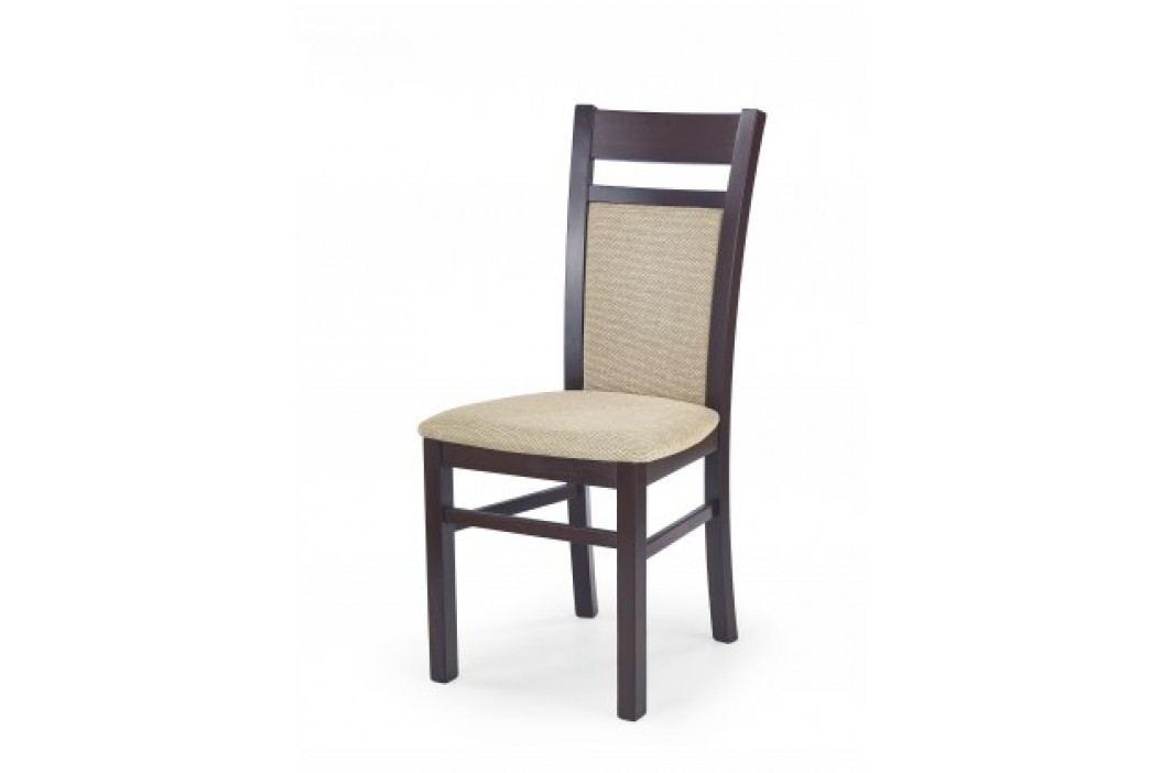 Gerard 2 - Jedálenská stolička (béžová, orech)