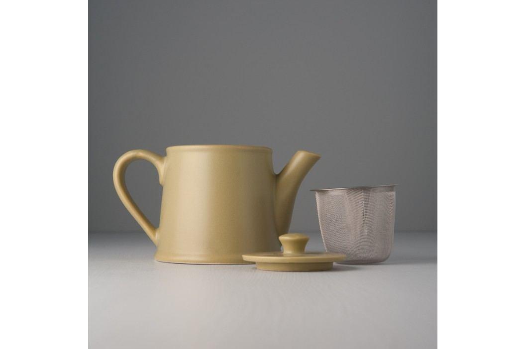 Čajová kanvica so sitkom Teacup pistáciová 500 ml