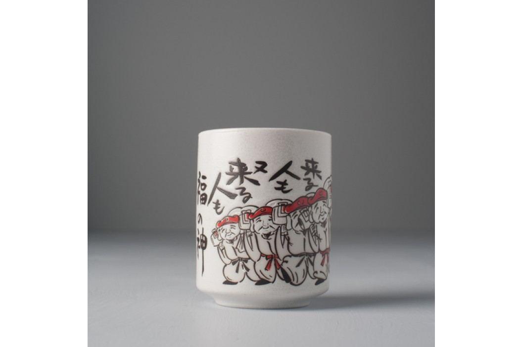 Hrnček s motívom japonských bojovníkov Mug Sushi