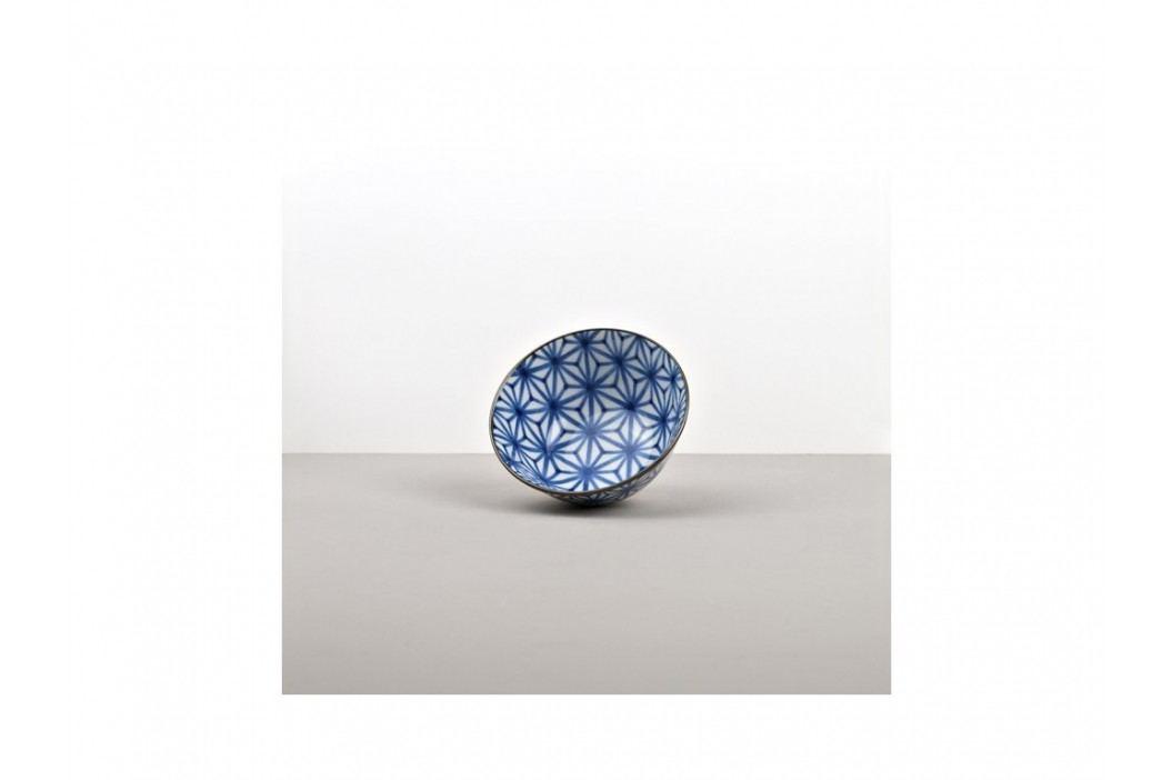 Stredná miska Starburst Indigo Ikat 13 cm
