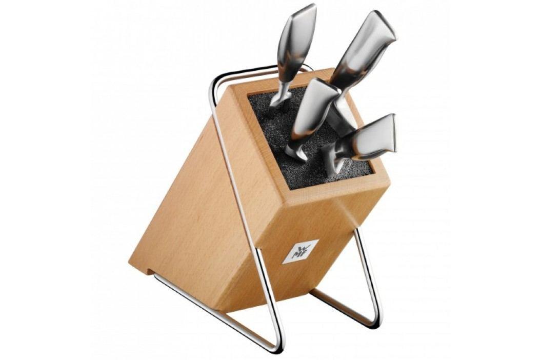 Stojan na nože WMF štvorcový drevený 23 cm