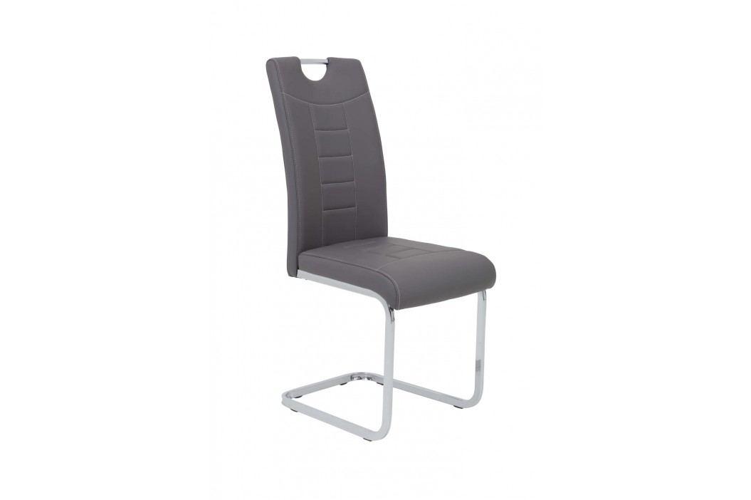 Jedálenská stolička RUBY S grey