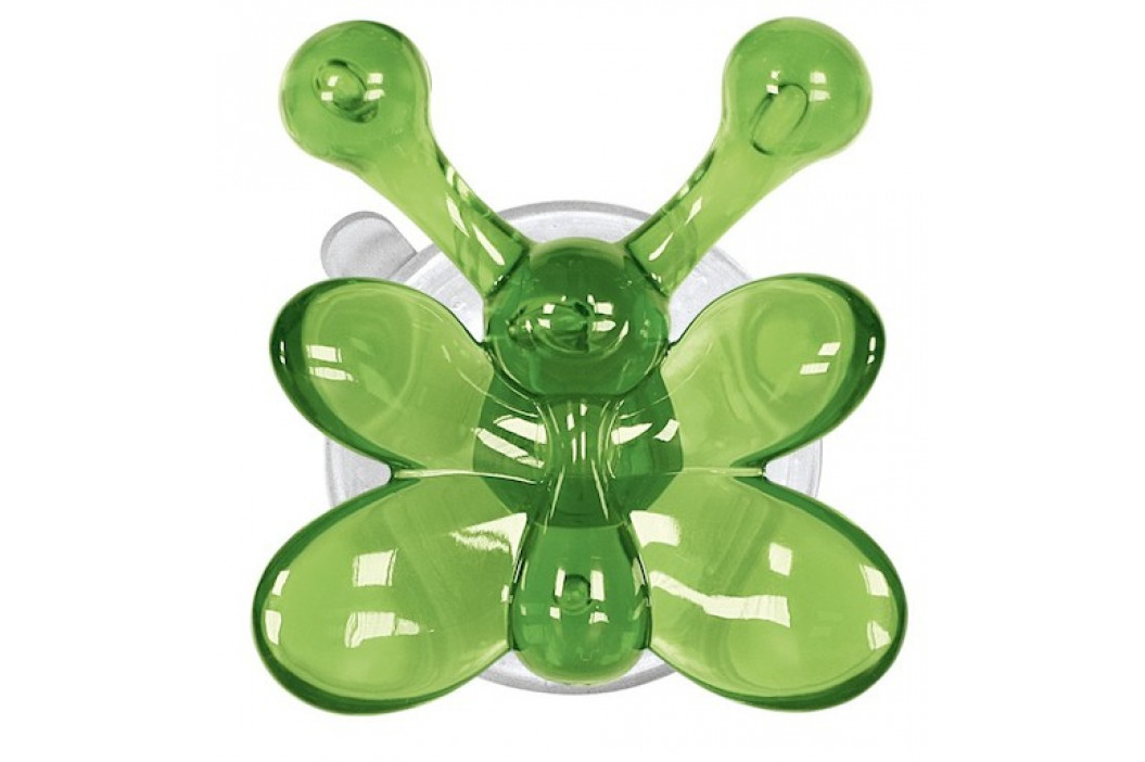 Kleine Wolke Nástenný háčik s prísavkou Crazy Hooks, zelená 5068657887