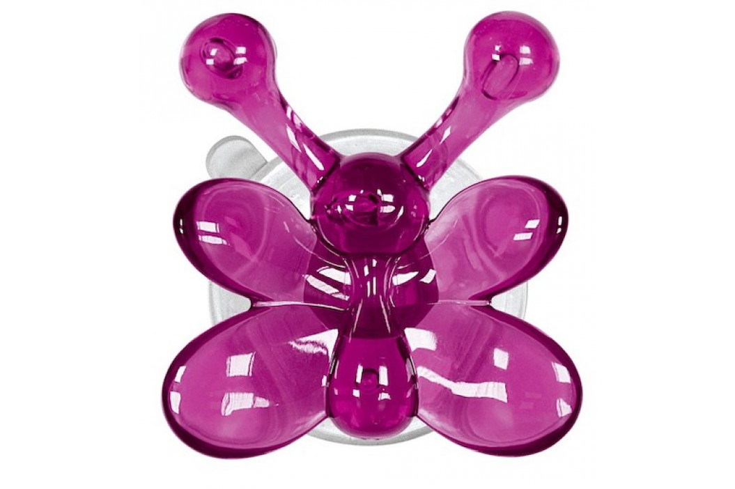 Kleine Wolke Nástenný háčik s prísavkou Crazy Hooks, fialová 5068463887