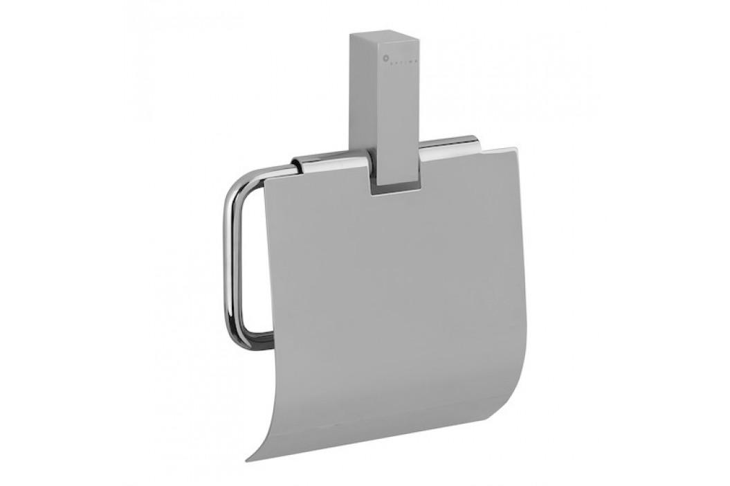 Optima Držiak toaletného papiera Donata nástenný, hranatý DON25