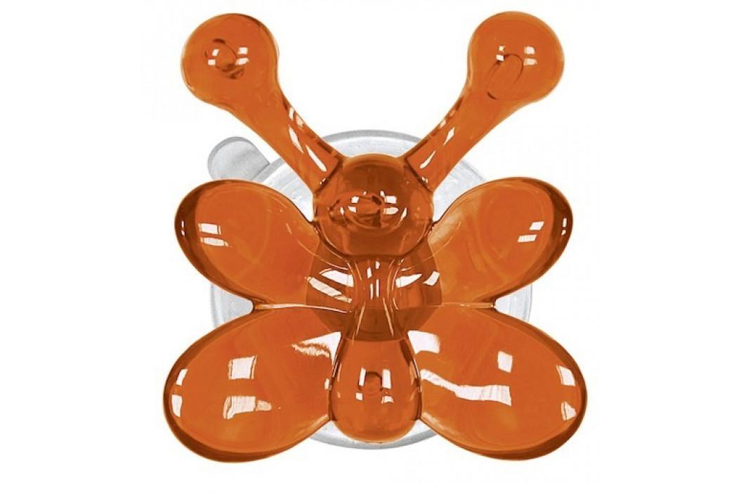 Kleine Wolke Nástenný háčik s prísavkou Crazy Hooks, oranžová 5068488887