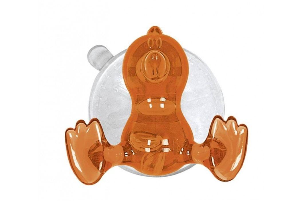 Kleine Wolke Nástenný háčik s prísavkou Crazy Hooks, oranžová 5069488887