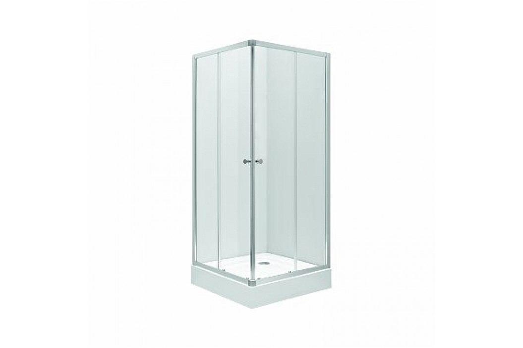 Sprchový kút Kolo štvorec 80 cm, sklo číre ZKDK80222003