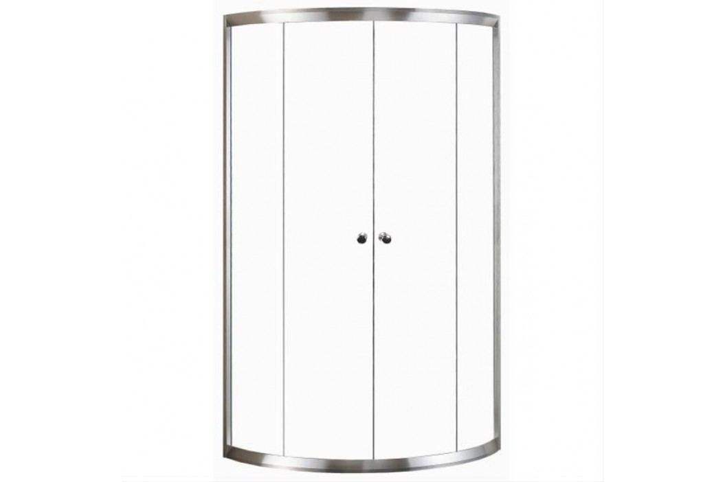 Sprchový kút Anima T-Pro štvrťkruh 90 cm, R 550, nepriehľadné sklo, chróm profil TPSNEW90CRG