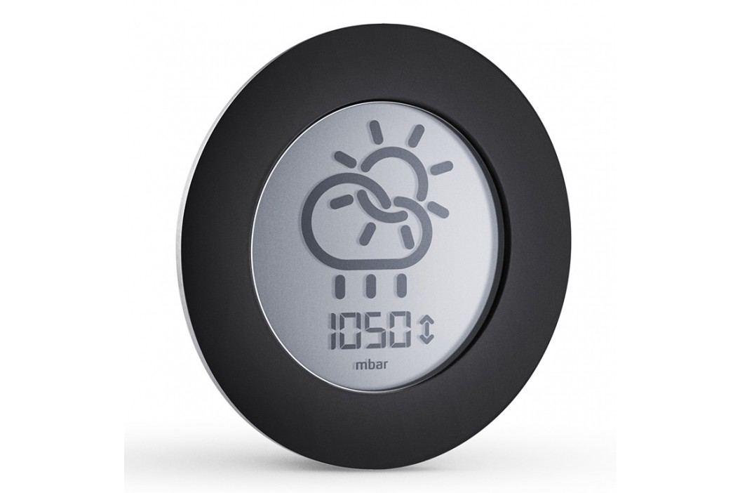Eva Solo Digitálny vonkajšíbarometer Ø 8 cm čierny